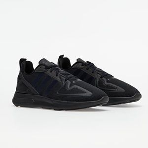 Adidas ZX 2K Flux Sneakers Black Womens Size 7 NWT